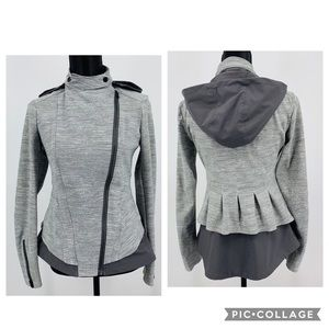 Lululemon Bust A Move Jacket in Grey